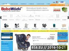 Miniaturka domeny www.bobowozki.com.pl
