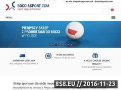 Miniaturka Sport paraolimpijski (bocciasport.com)