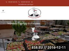 Miniaturka domeny www.bocian-catering.pl