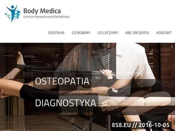 Zrzut strony Fizjoterapeuta, masaże i osteopatia