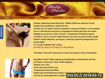 Zrzut strony Odchudzanie i masaż. Nowe Studio na Białołęce