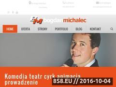 Miniaturka domeny bogdanmichalec.pl