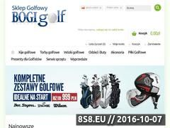Miniaturka domeny bogigolf.com.pl