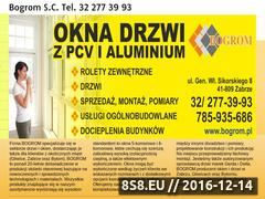 Miniaturka domeny www.bogrom.pl