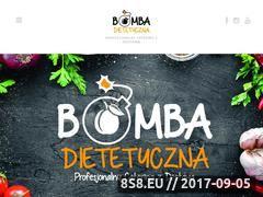 Miniaturka bomba-dietetyczna.pl (Catering dietetyczny oraz dieta z dostawą do domu)