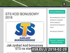 Miniaturka domeny bonusowekody.pl
