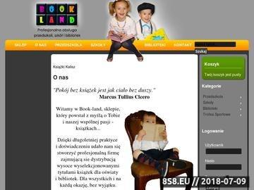 Zrzut strony Książki dla dzieci