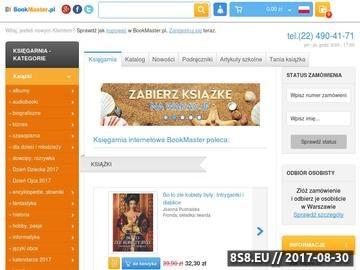 Zrzut strony Księgarnie internetowe
