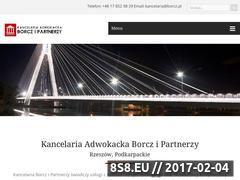 Miniaturka domeny www.borcz.pl