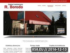 Miniaturka domeny www.borodo.eu