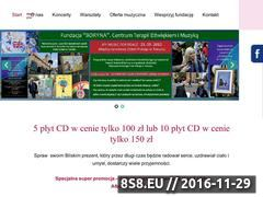Miniaturka domeny www.borynafoundation.com
