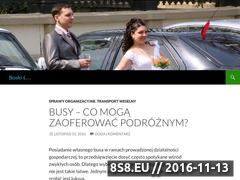 Miniaturka boskislub.pl (Wortal ślubny - boskislub.pl)