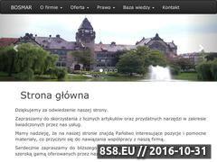 Miniaturka domeny www.bosmar.pl