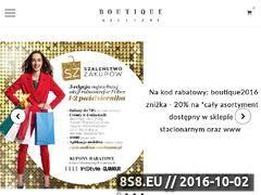 Miniaturka domeny boutiquebielizny.com