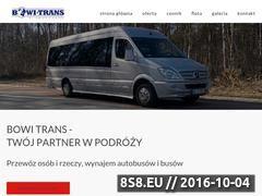 Miniaturka domeny www.bowitrans.pl