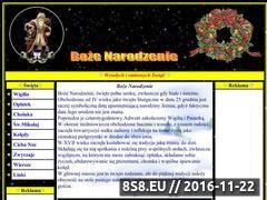 Miniaturka domeny www.bozenarodzenie.swieta.biz