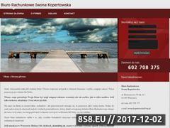 Miniaturka br-bielany.waw.pl (Biuro rachunkowe oferuje usługi prawno-księgowe)