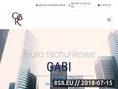 Miniaturka br-gabi.pl (Księgi rachunkowe GABI)