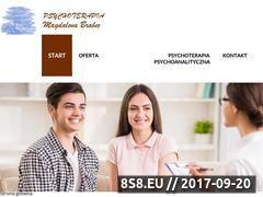 Miniaturka domeny www.brabec-psychoterapia.pl