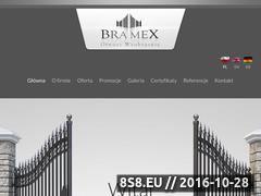 Miniaturka domeny www.bramex.pl