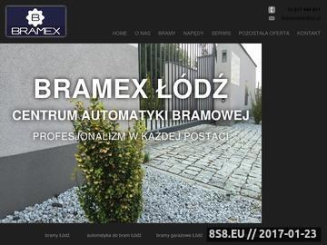 Zrzut strony Serwis bram Łódź