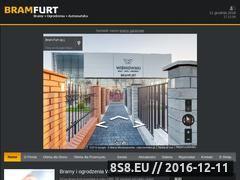 Miniaturka domeny www.bramfurt.pl