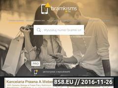 Miniaturka Rejestr bramek SMS (bramkisms.info)