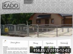 Miniaturka domeny www.bramykado.pl