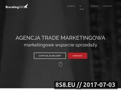 Miniaturka branding365.pl (Trade marketing internetowy Branding E-Commerce)