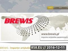 Miniaturka domeny www.brewis.pl