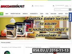 Miniaturka domeny www.bricomiechow.pl