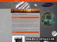 Miniaturka domeny www.bromaz.pl