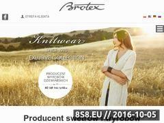 Miniaturka domeny www.brotex.pl
