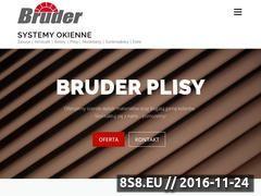 Miniaturka Sprzedaż, montaż i serwis 24h - rolety oraz żaluzje (www.bruder-rolety.pl)
