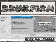 Miniaturka domeny www.brukfirm.eu