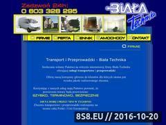 Miniaturka domeny www.bt-transport.com.pl