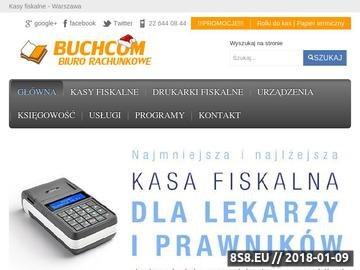 Zrzut strony Kasy i drukarki fiskalne Warszawa Ursynów