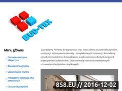 Miniaturka domeny bud-tex.pl