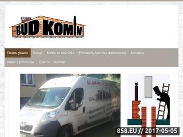 Zrzut strony Bud-Komin - poszerzanie