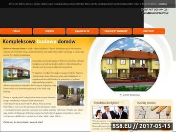 Zrzut strony Budowa domów pod klucz Warszawa