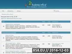 Miniaturka domeny www.budowa-info.pl
