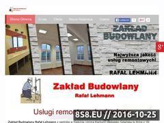 Miniaturka domeny budowaremontylehmann.pl
