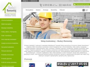 Zrzut strony Materiały budowlane