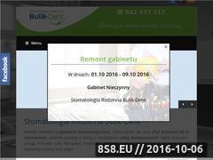 Miniaturka domeny bulik-dent.pl