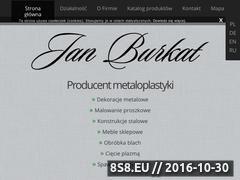 Miniaturka domeny www.burkat.pl