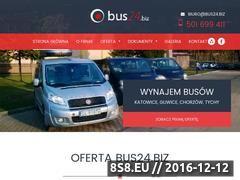 Miniaturka domeny www.bus24.biz