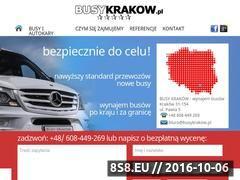 Miniaturka domeny www.busykrakow.pl