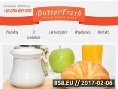 Miniaturka domeny www.butterfresh.pl