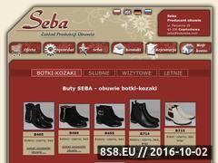 Miniaturka domeny www.butyseba.com