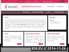 Miniaturka domeny www.buzzair.pl